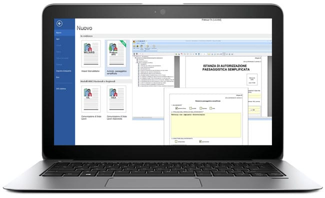 Software autorizzazione paesaggistica - Praticus-APS - ACCA software