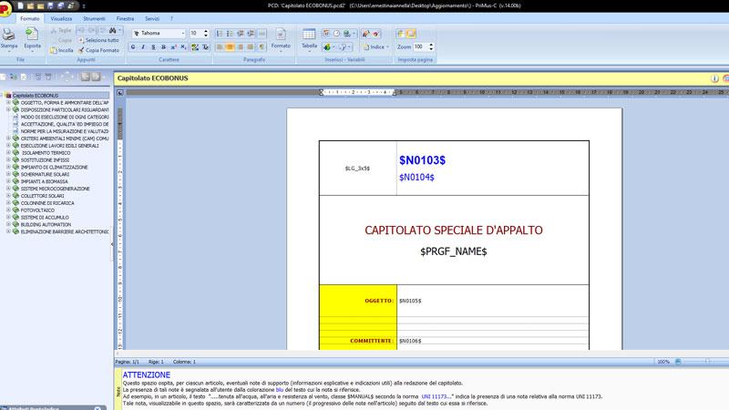 Software Capitolati Speciali - PriMus-C - ACCA software
