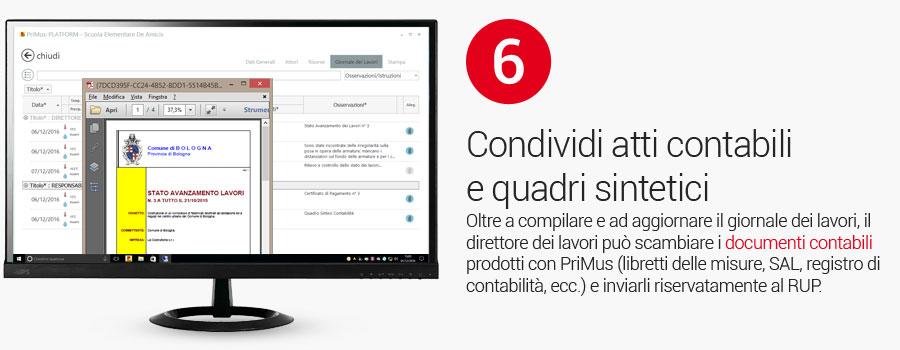 PriMus-PLATFORM - Direzione Lavori e Giornale dei Lavori - Slide