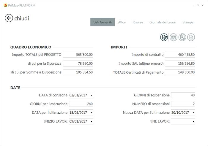 Dati contabili