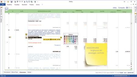 PriMus - Personalizzazione computo