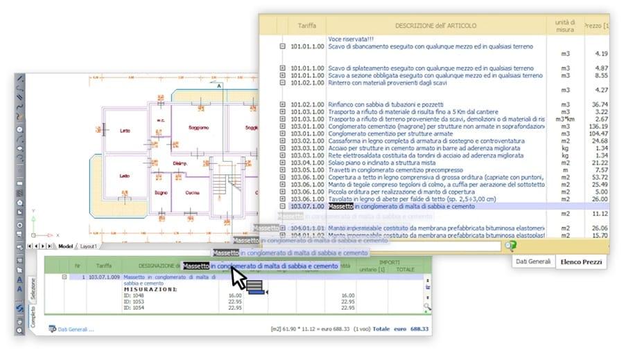 Computo dal disegno CAD
