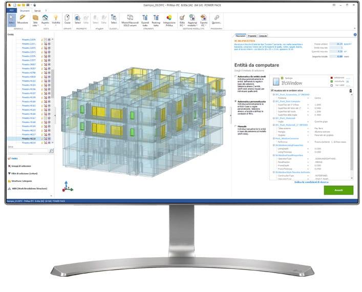 Software IFC BIM Computo Metrico - PriMus-IFC