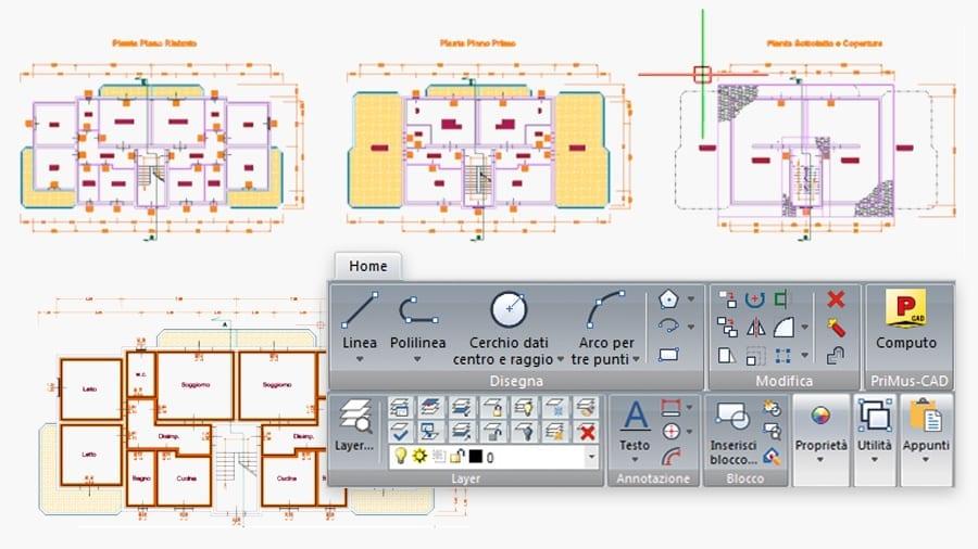 interfaccia CAD