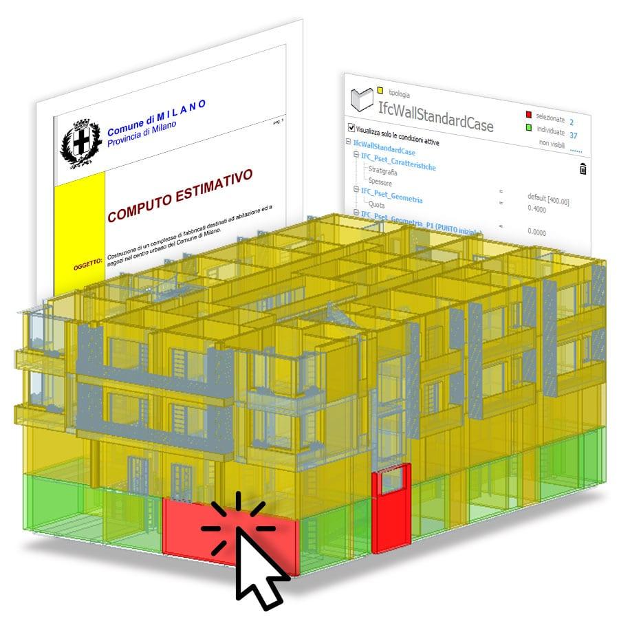 Software BIM per il calcolo del costo del modello | PriMus-IFC | ACCA software