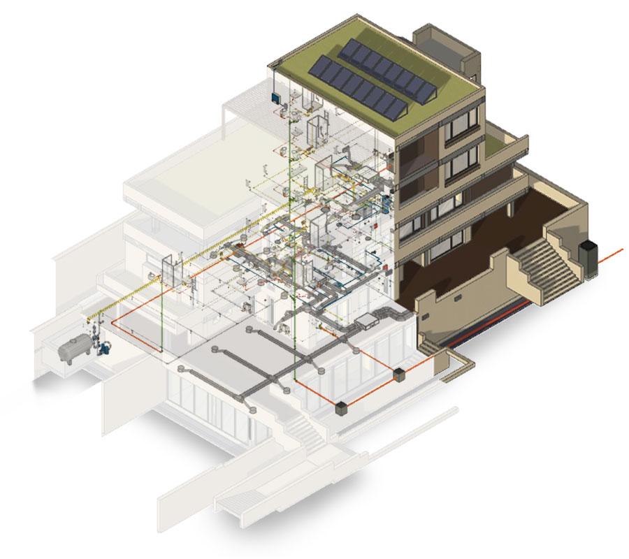 Software BIM per impianti meccanici, elettrici, idraulici | Edificius-MEP | ACCA software