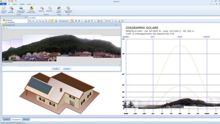 Software BIM per la progettazione di impianti fotovoltaici - Solarius-PV