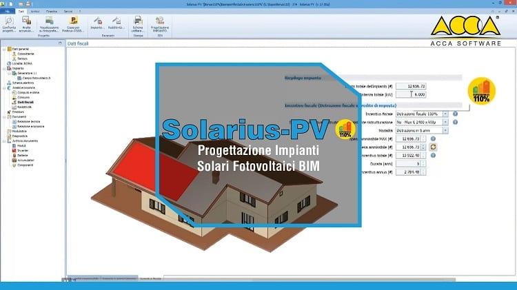 Software EcoBonus Fotovoltaico con SuperBonus 110% - Solarius-PV