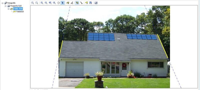 Fotoinserimento impianto fotovoltaico - Solarius-PV
