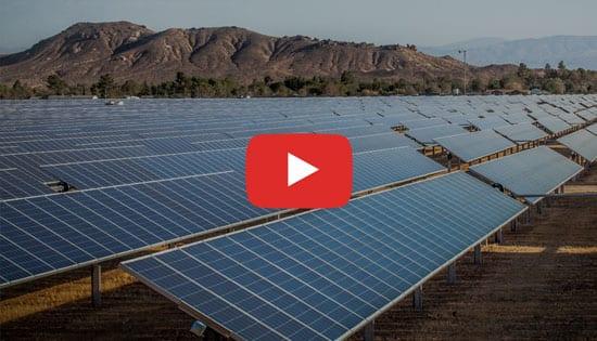 Impianto fotovoltaico a terra - Esempio