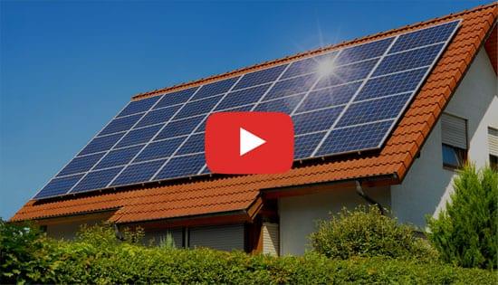 Impianto fotovoltaico su copertura - Esempio