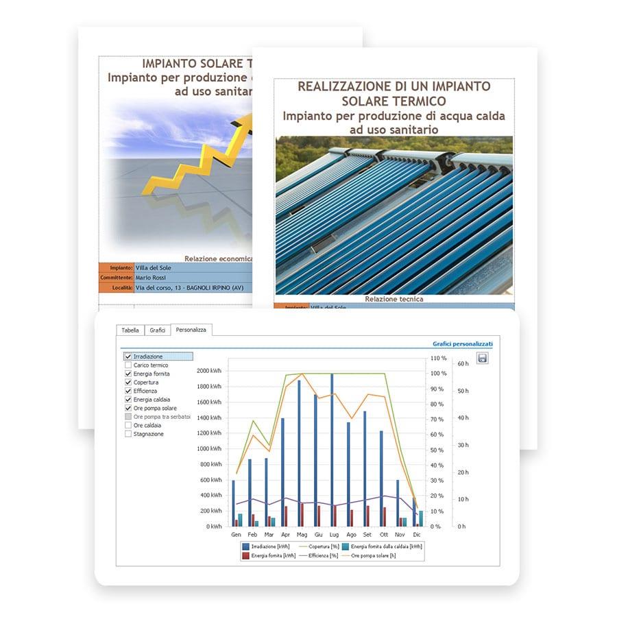 Documentazione tecnica, tavole e progetti - Solarius-PV - Software fotovoltaico