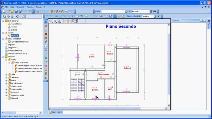 Software Progettazione Acustica - SuoNus-CAD - ACCA software