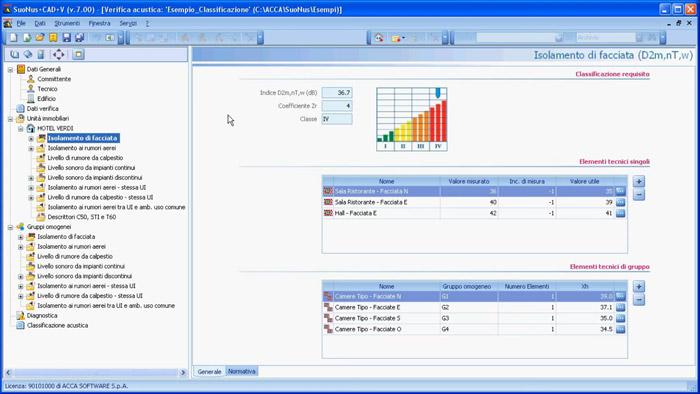 software-certificazione-acustica - Suonus-V - ACCA software