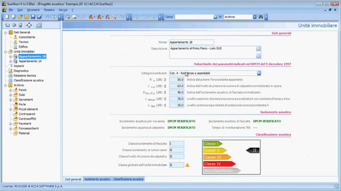 Software isolamento acustico free - SuoNus - ACCA software