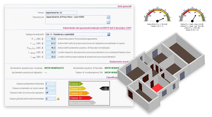 Verifica e classificazione acustica degli edifici