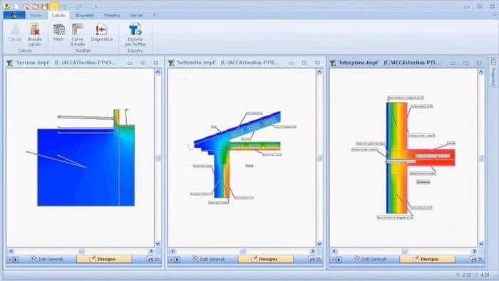 Software Calcolo Ponti Termici - TerMus-PT - ACCA software