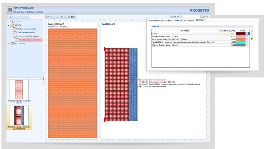 Integrazione dei materiali per il calcolo dei ponti termici con TerMus di ACCA software