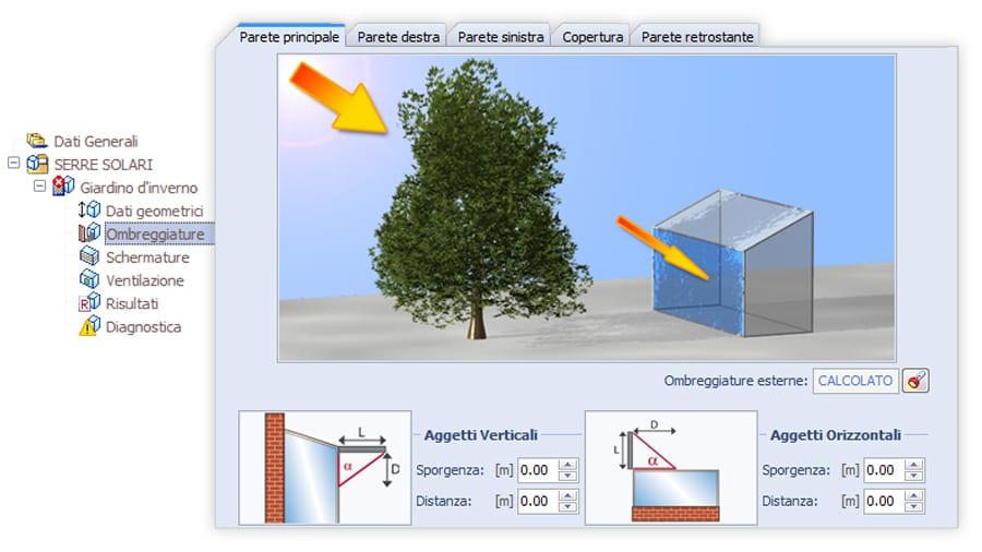 Ombreggiature - TerMus-SR - ACCA software