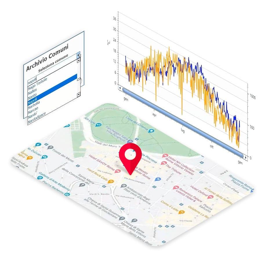 Caratteristiche termiche e  fabbisogno energetico dell'edificio