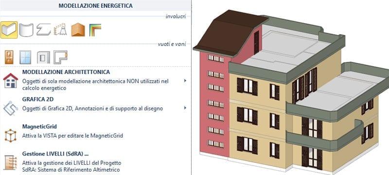 Modellazione energetica - TerMus Certificazione Energetica - ACCA software