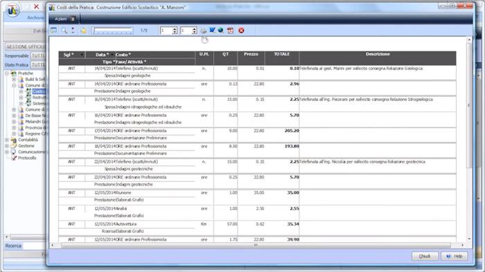 Software Gestione Studio Tecnico - Ufficius - ACCA software