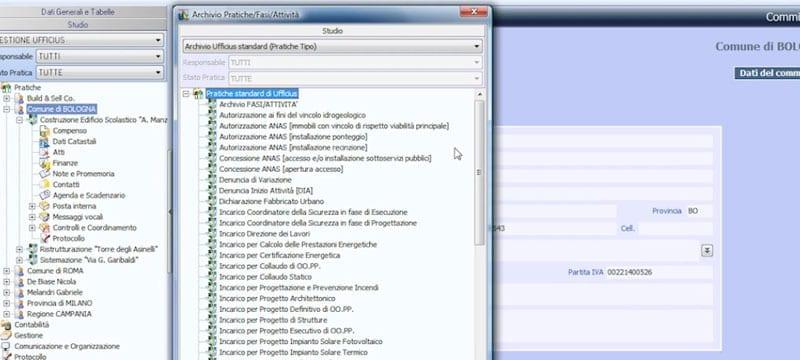 Archivio interno di pratiche già analizzate - Ufficius - ACCA software