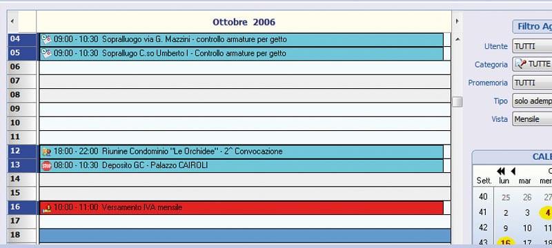 Scadenzario e messaggistica - Ufficius - ACCA software