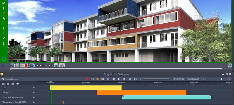 Video realistici del modello IFC