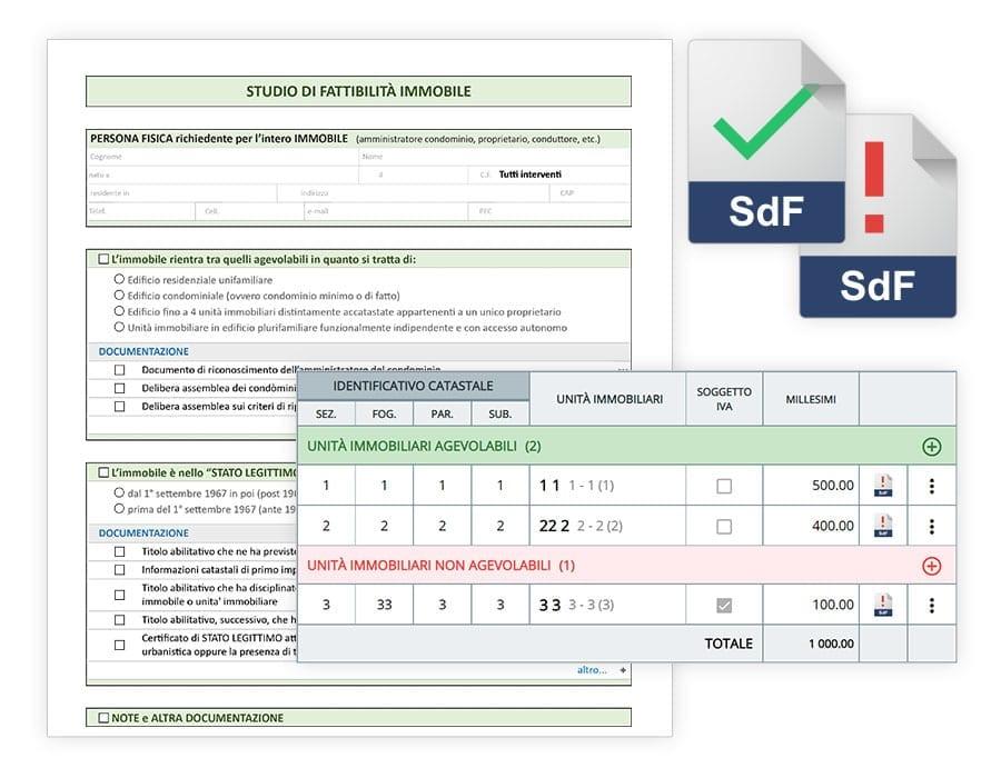 Studio preliminare di fattibilità | usBIM.superbonus | ACCA software