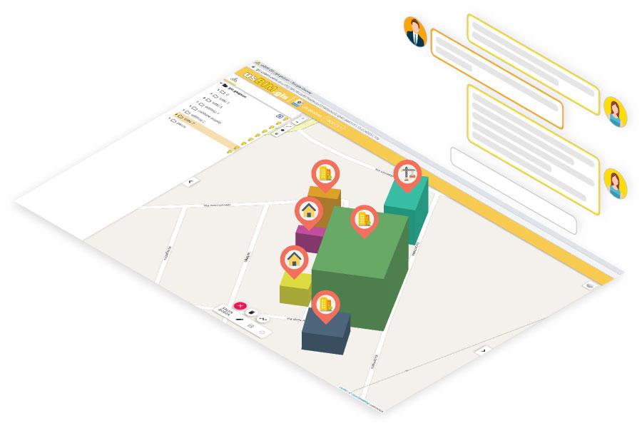 Collabori con il team nel cloud | usBIM.gis | ACCA software