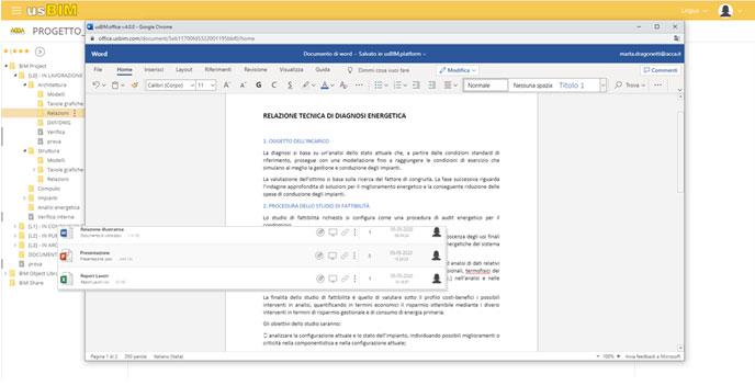 usBIM.write - Microsoft office editing