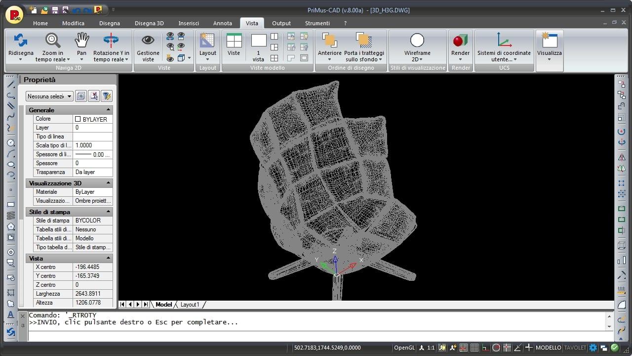 Conversione di modelli 3D in file IFC