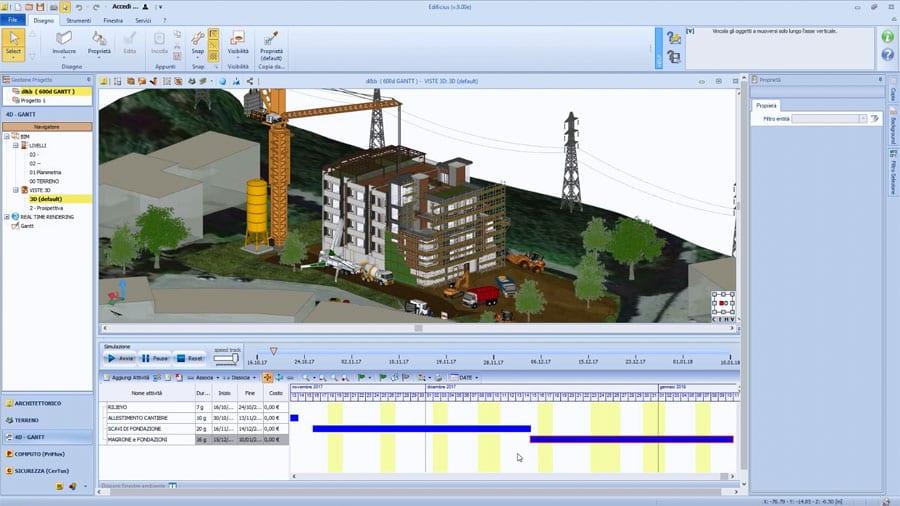 BIM 4D   usBIM.gantt   ACCA Software