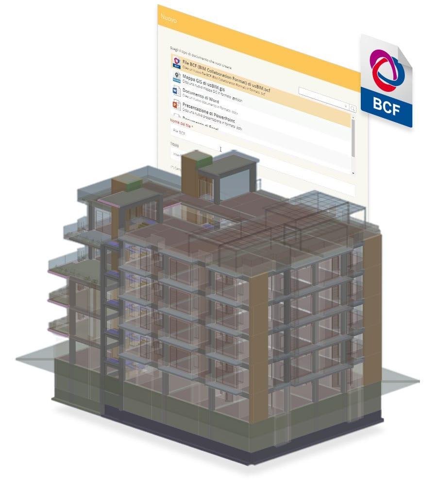 Coordinare il progetto BIM con file BCF | usBIM.bcf | ACCA software