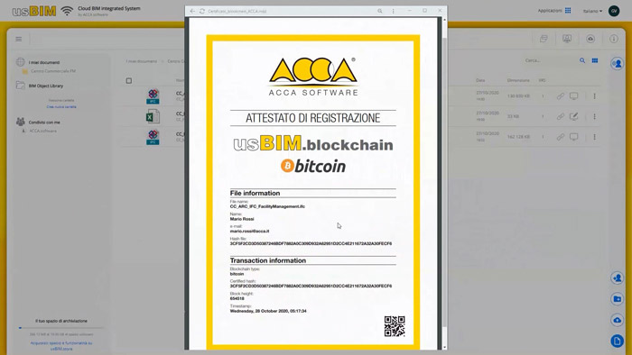 usBIM.blockchain | ACCA software