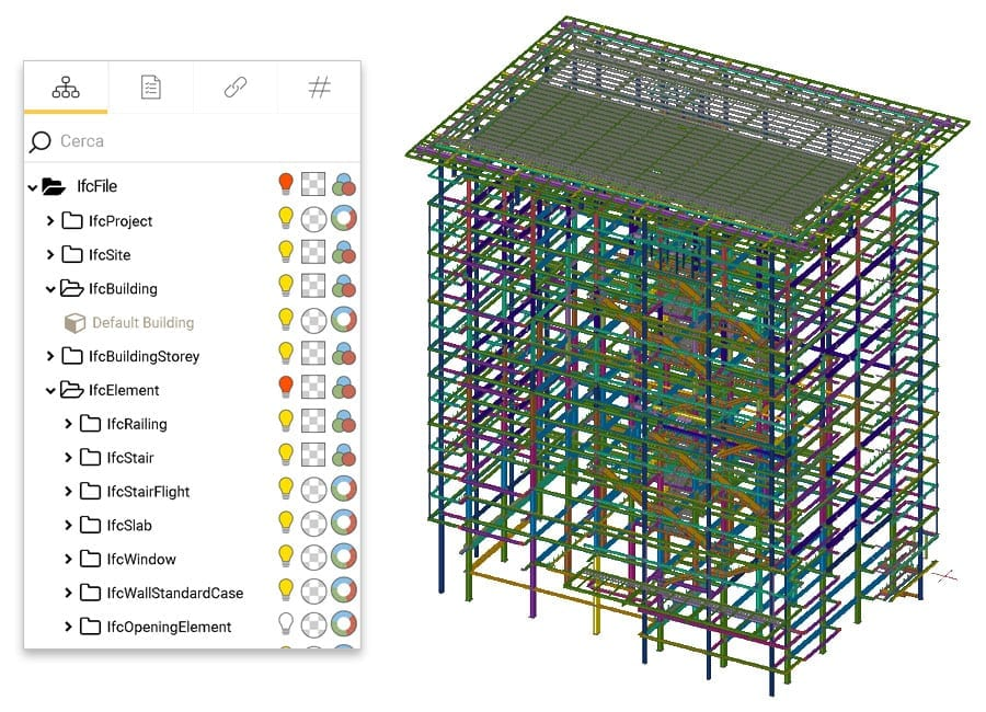 Work with IFC entities directly online using advanced management tools | usBIM | ACCA software