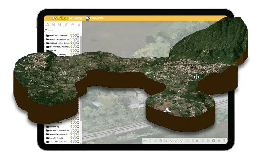 Federation and georeferencing BIM models | usBIM.federation | ACCA software