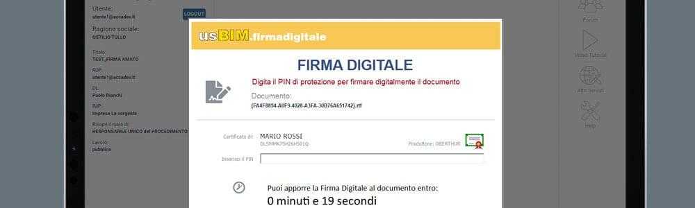usBIM.firmadigitale