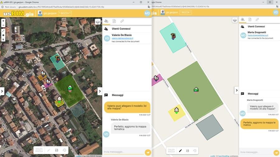 Vidéo Cartes SIG | usBIM.gis | ACCA software