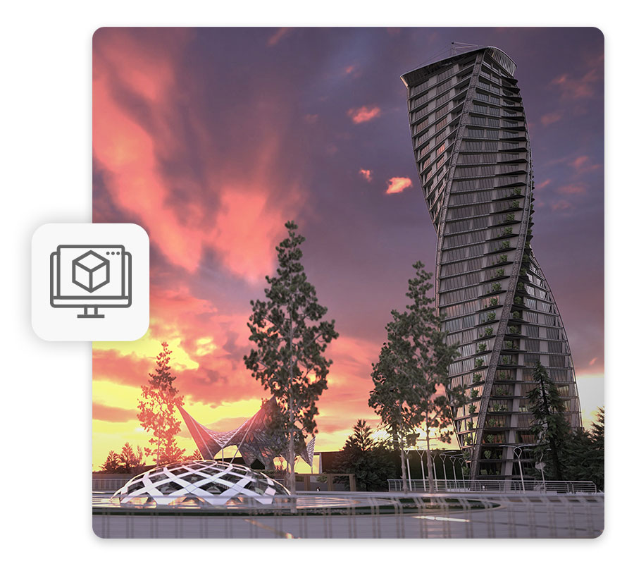 Real-time rendering and immersive virtual reality | usBIM.render | ACCA Software
