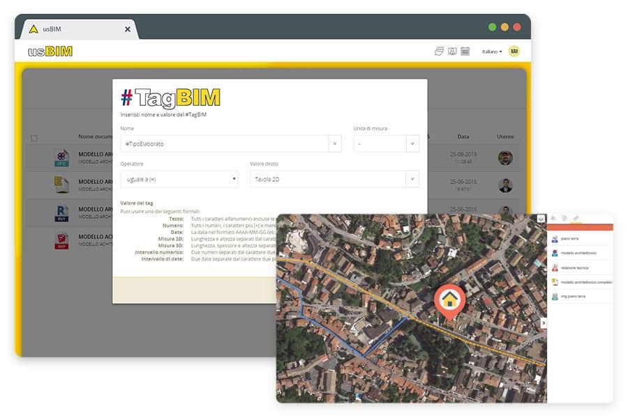 TAG BIM e georreferenciamento do modelo BIM | usBIM | ACCA software