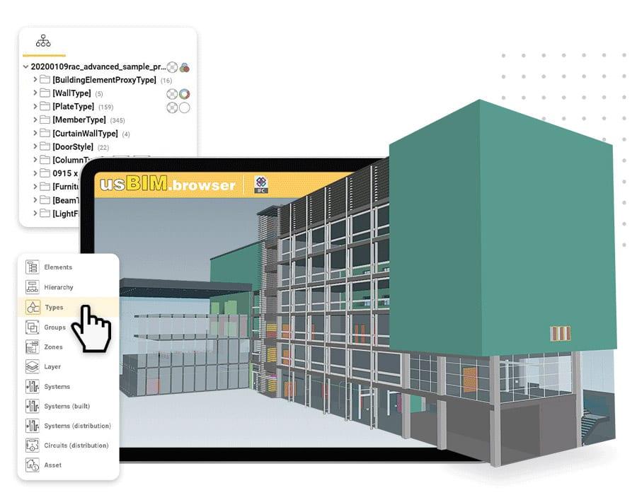 Gestisci on-line modelli e documenti   usBIM.broswer   ACCA software