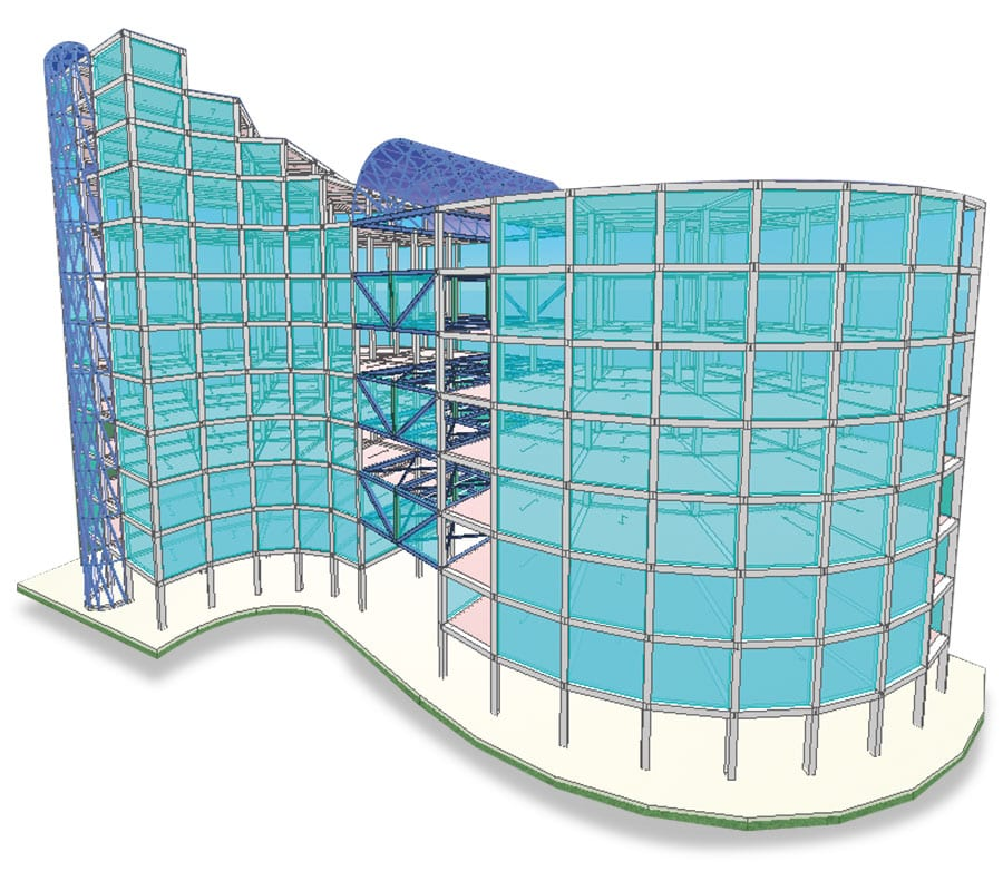 BIM software for structural analysis | EdiLus | ACCA software