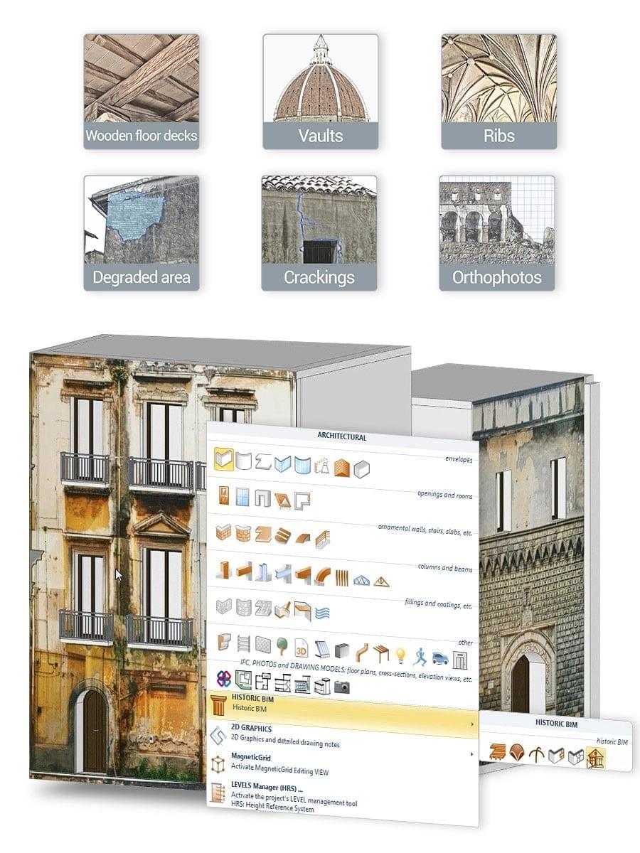 HBIM (Heritage BIM) | Edificius | ACCA software