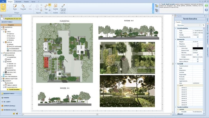 Professional Landscape Design | Edificius LAND | ACCA software
