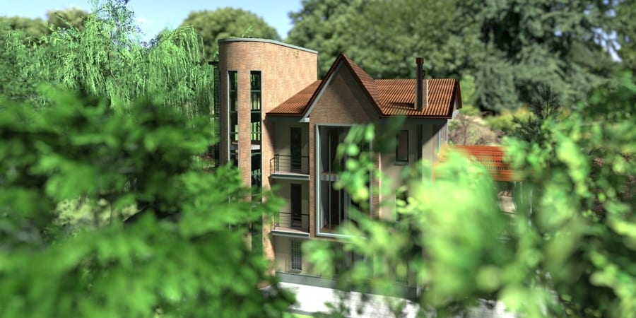 Render Garden | Edificius LAND | ACCA software