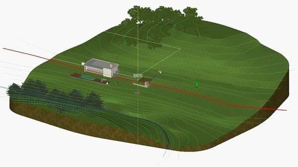 Rebuild a complex topographic land survey | Edificius LAND | ACCA software