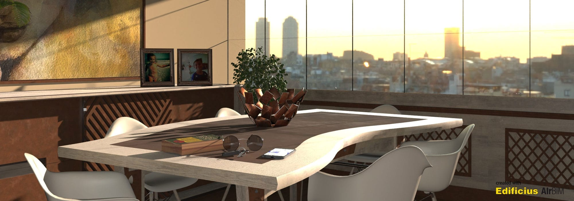 Rendu Photo Réaliste de l'Architecture 5 | Edificius+AIrBIM+ACCA software