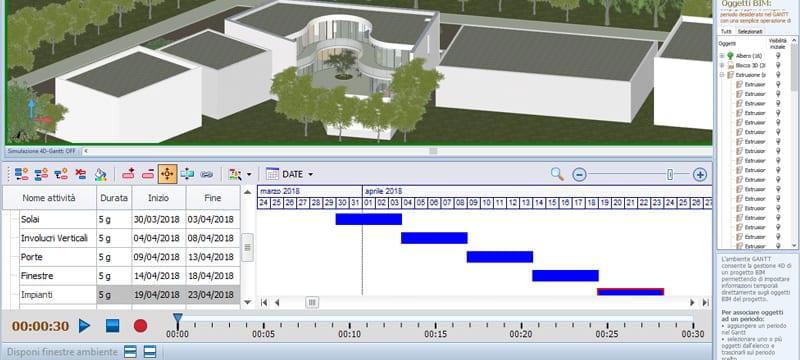 4D BIM/VDC Virtual Design and Construction | Edificius | ACCA software